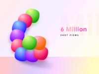Celebrating 6 Million shot views