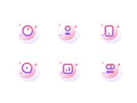Otis mobile service icons