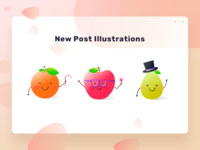 Add/New post illustrations
