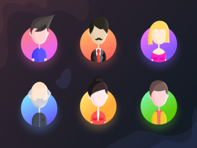 Team section avatars (source)