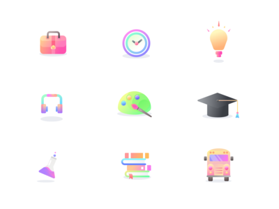 Learning icons (source)