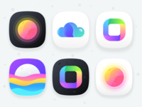 Unused App Icons : Collection 2 (source)