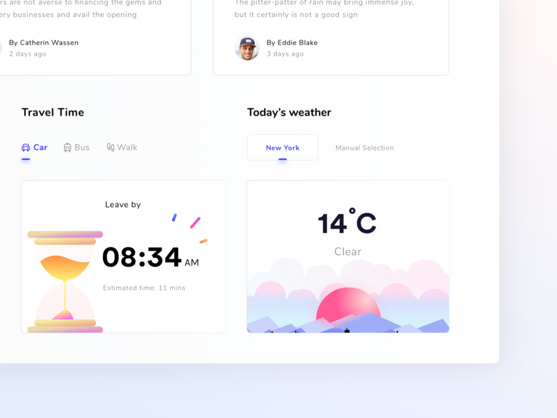 Dashboard for schedule and monitoring platform CARDS