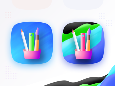 App icon related to photo editing/paint app