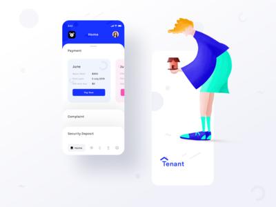 Tenant app assignment (Splash + Home payment)