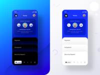 tenant app home (Dark + Light mode)