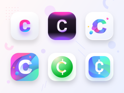 Cryptocurrency app icon (Source)
