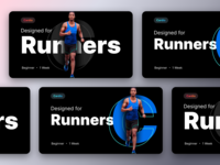 Unused banners prototype for a fitness product part-4