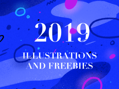 2019 Illustrations and Freebies {Part 1}