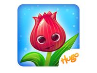 Happy Flower Icon