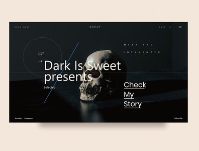 Dark is sweet