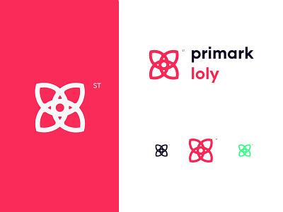 Loly logo pink pink digital drawing landing page logodesign logotype illustration design logo design mark logo loly