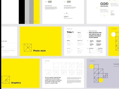 Geo Protocol branding design corporate identity logo identitydesign