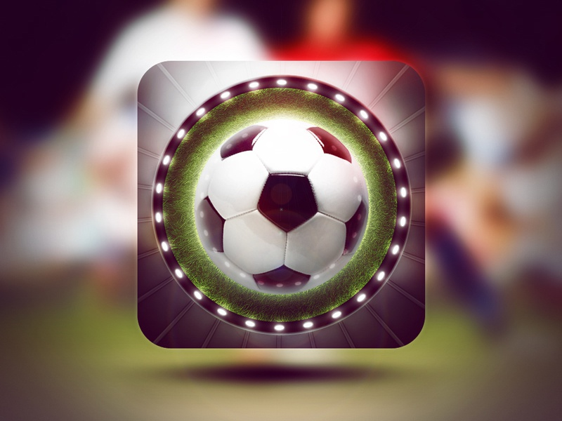 Soccer PSD Template soccer psd template ui navigation ball stadium chat formation match score statistic icon download football video player statistics