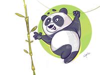 Breakfast breakfast panda cartoon sketch illustration spovv characterdesign fun character