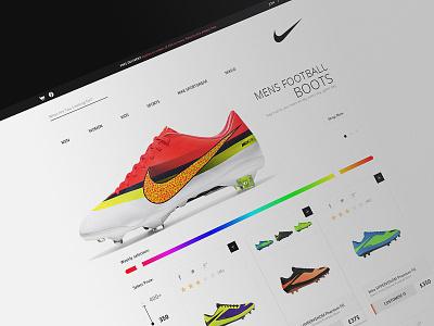 e-commerce theme soccer e-commerce store wp theme nike product