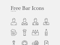 Bar icons preview