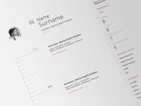 Web CV