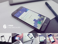 Thinkerr App +  Free Mockups