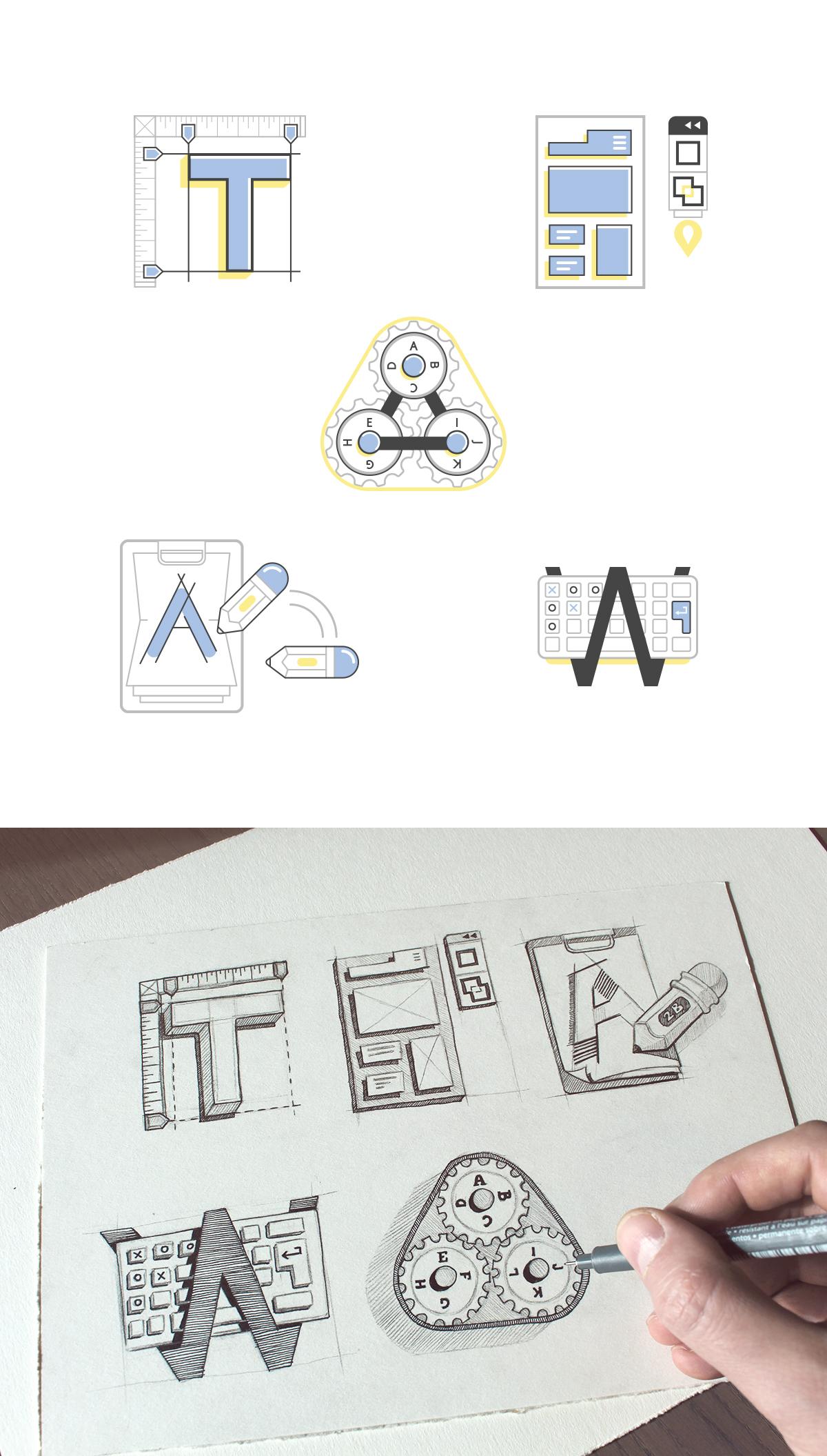 Process icons large
