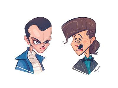 Stranger Тhings strangerthings netflix breakingbad character avatar characterdesign fun like tvseries spovv