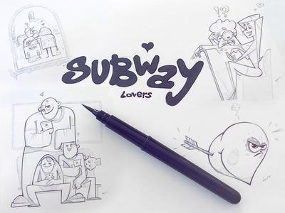 Subway Lovers