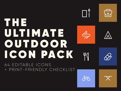 Outdoor Icon Pack freebies free iconpack icon spovv design