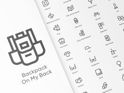Before You Leave Home iconpack freebie free spovv outdoor icons design illustration