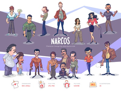 Shopy shop mafia gangster gangsters gang fan fanart series netflix narcos coloring cartoon process spovv sketch illustration drawing characterdesign fun character