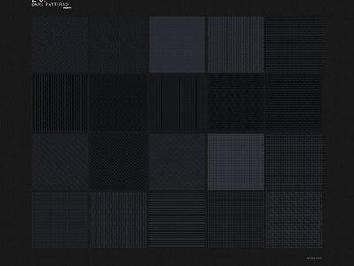 20 Dark patterns - 1 freebies free psd style patterns dark photoshop textures pat