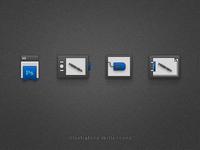 Illustrator Skills Icons / CS5 style
