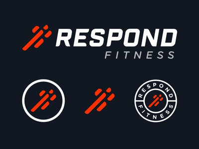 Fitness Branding fitness typography type illustration design identity branding logo