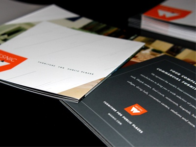 furniture accordion brochure by patrick carter dribbble dribbble