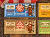 Vapor Packaging Labels