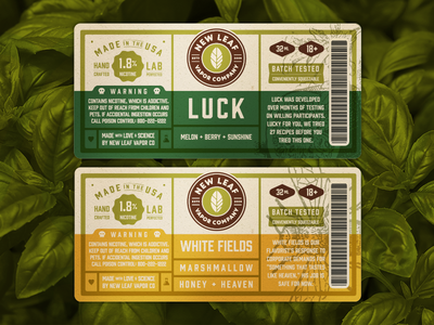 Retail Label Design