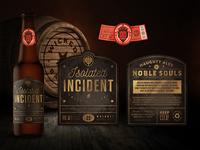 Beer Bottle Label Design