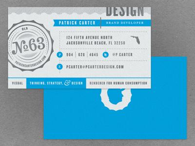 Business card design sm