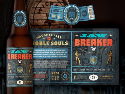 Jaw Breaker Bottle Label