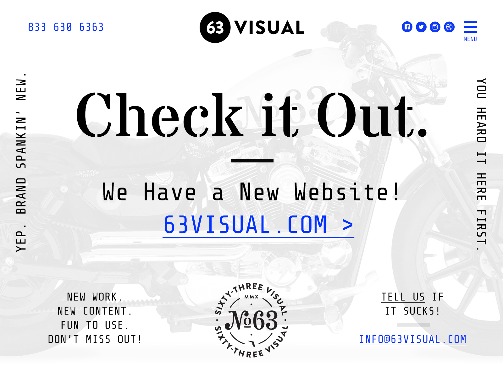 63 visual website launch