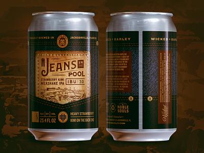 Crowler™ Label Design label beer package badge typography illustration type design branding logo