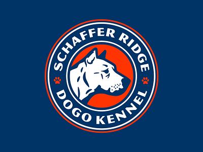 Dog Kennel Logo logo branding design typography type identity illustration