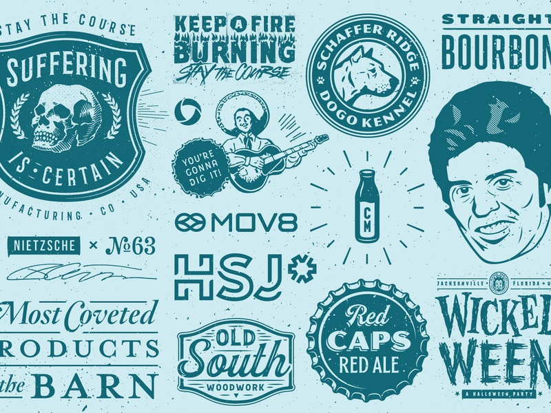 New Year 2020 Recap typography illustration identity type design branding logo