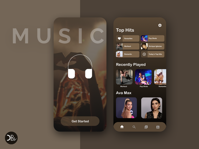 Music App UI Design music app adobe photoshop design mobile app design figma design ui design figma app ux design graphic design ux ui branding