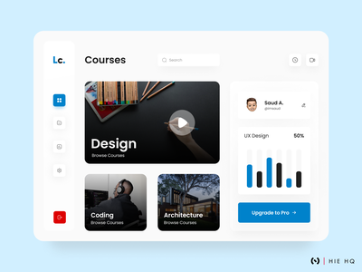 Learning Web App product colors courses webdesign webapp web learning platform learning app app dribbble best shot figma uiux uidesign minimal ux design ux ui design