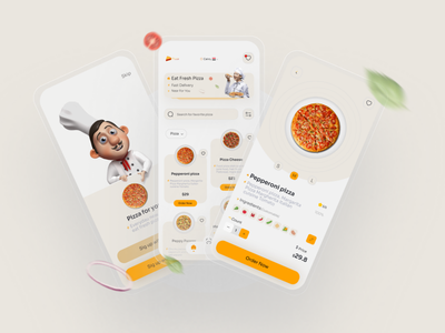Pizza Delivery App (Free) pizza delivery app adobe xd figma free download free branding motion graphics graphic design 3d ui logo illustration uiux design ui design animation uidesign user interface design userinterface user experience