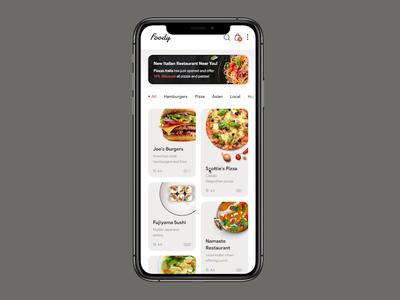Foody App Prototype