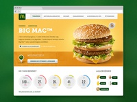 Mcdonald's Product Page
