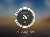 Air condition - Car UI