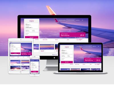 WIZZ Site Redesign