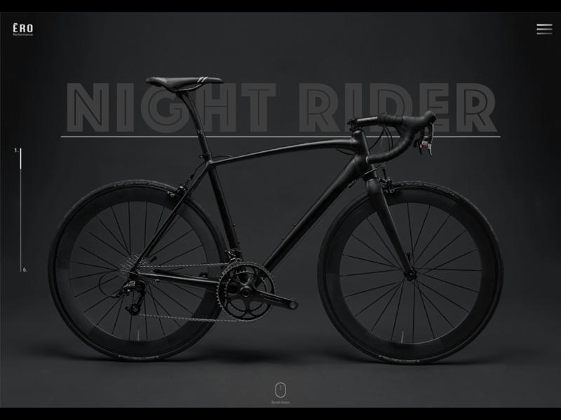Night Rider | Landing Page